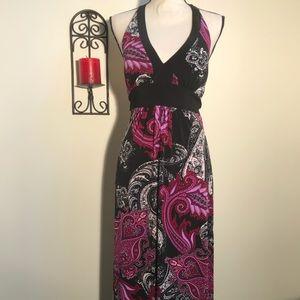 Bisou Bisou maxi dress size 6
